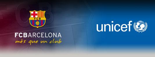 Fc Barcelona Verlengt Samenwerking Unicef Unicef