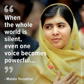 the struggles of malala yousafzai in fighting for the freedom of education Pakistani teenager malala yousafzai to join in a common struggle for education and against extremism, committee head thorbjoern connect with abc news.