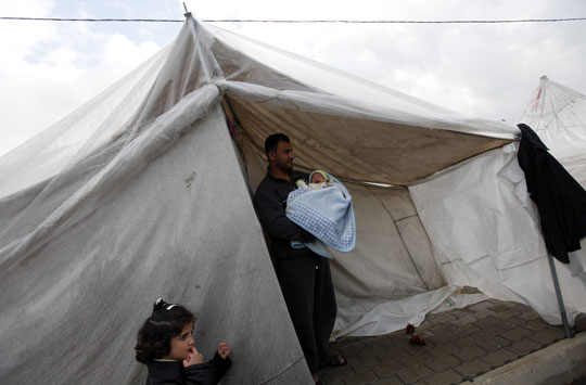 Tent Syrie